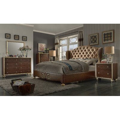 Ultimate Accents City Lights King Panel Customizable Bedroom Set
