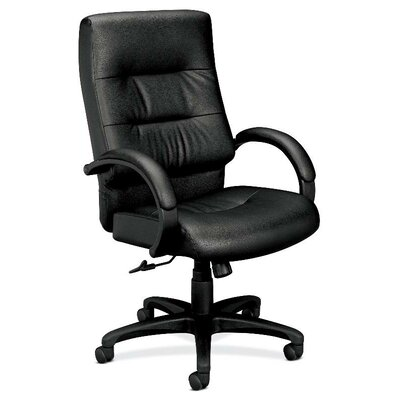 Basyx by HON VL690 Series High-Back Leather Executive Chair