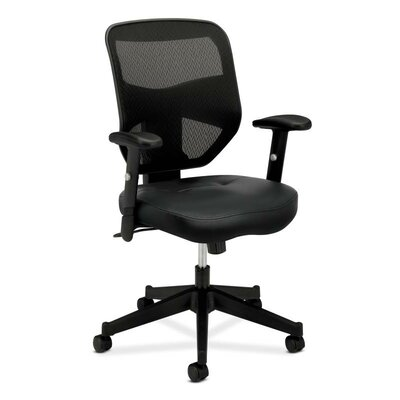 Basyx by HON HVL531 Series High-Back Mesh Task Chair with Arms