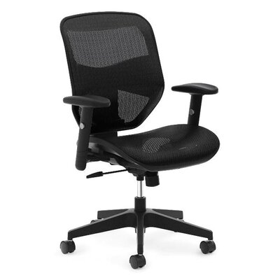 Basyx by HON High-Back Mesh Task Office Chair with Adjustable Arms Image