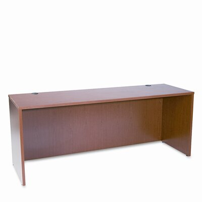 Basyx by HON Credenza Shell Bourbon Cherry Frame/Top