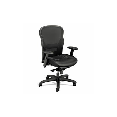 Basyx by HON VL701 Series High-Back Mesh Office Chair with Arms