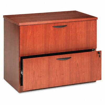 Basyx by HON Veneer 2-Drawer Locking  ..