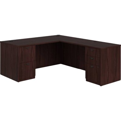 Basyx by HON BL Series Executive Desk with 2 Pedestals Image