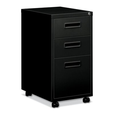Basyx by HON Embark Series 3-Drawer Mobile Pedestal File