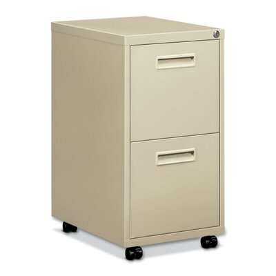 Basyx by HON Embark Series 2-Drawer Mobile Pedestal File