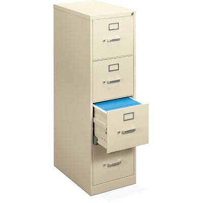 Basyx by HON H410 Series 4-Drawer  Files Letter