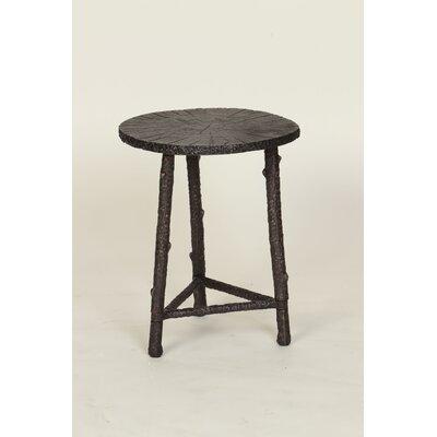 Prima Wood Slab End Table