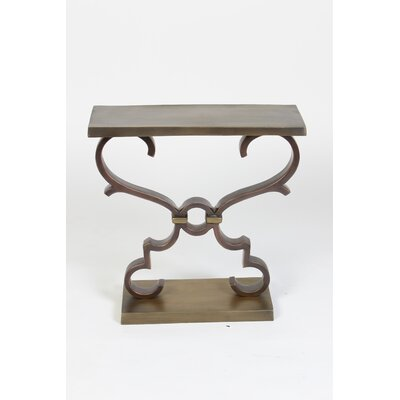 Prima Rectangular with Scrolls End Table