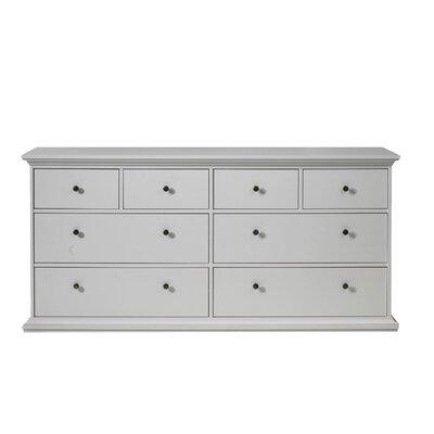 Tvilum Somerset 8 Drawer Double Dresser