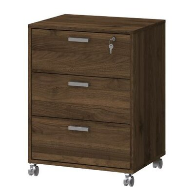 Zipcode™ Design Crystal 3 Drawer Mobile Cabinet