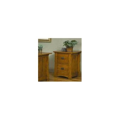 AYCA Furniture Bungalow 2-Drawer File Cabinet