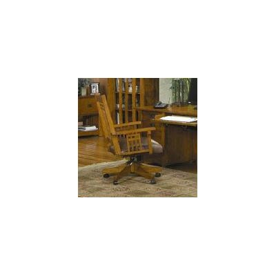 AYCA Furniture Bungalow Mid Back Wood Executive Office Chair