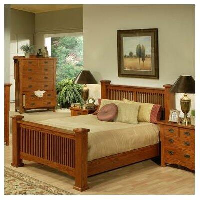 AYCA Furniture Heartland Manor Panel Bed