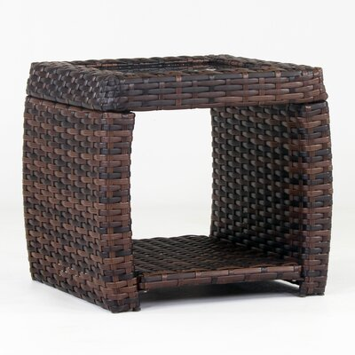 South Sea Rattan Huntington End Table