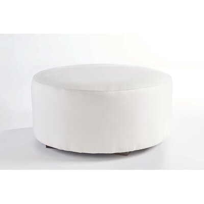 South Sea Rattan Cocktail Ottoman