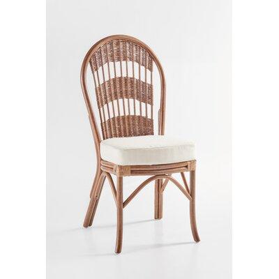 South Sea Rattan Bermuda Side Chair