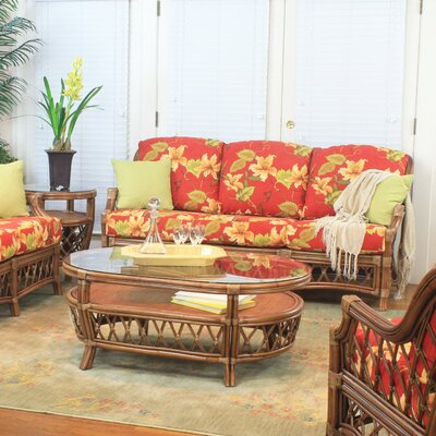 South Sea Rattan Nadine Ariel Sunset Sofa