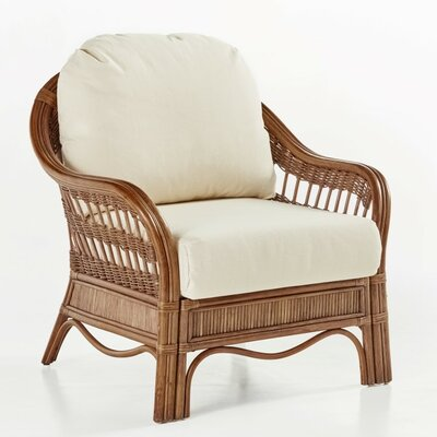 South Sea Rattan Bermuda Grasmere Cocoa Armchair