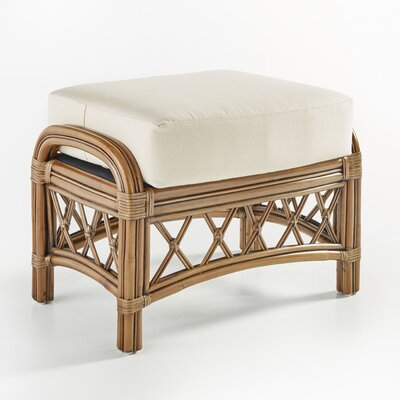 South Sea Rattan Nadine Ariel Sunset Ottoman
