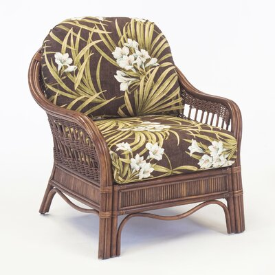 South Sea Rattan Bermuda Bamboozel Plantain Armchair