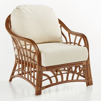 South Sea Rattan New Kauai Bamboozel Plantain Armchair