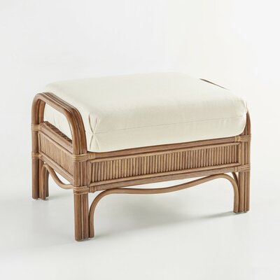 South Sea Rattan Bermuda Grasmere Cocoa Ottoman