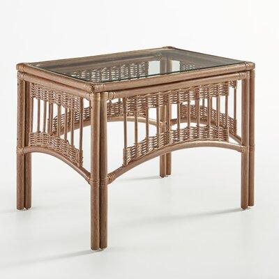 South Sea Rattan Plantation End Table