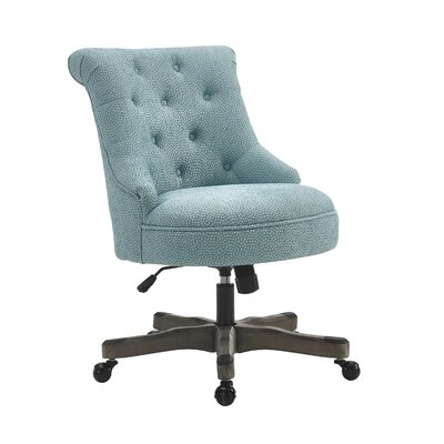 Linon & Linon Rug Event Sinclair Mid-Back Desk Chair