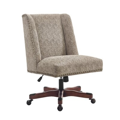 Linon & Linon Rug Event Draper Mid-Back Desk Chair