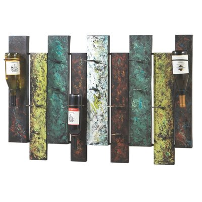 CBK Toscana 9 Bottle Wall Mounted Wine Rack