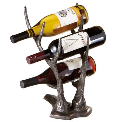 CBK Weekend Retreat 3 Bottle Tabletop Wine Rack