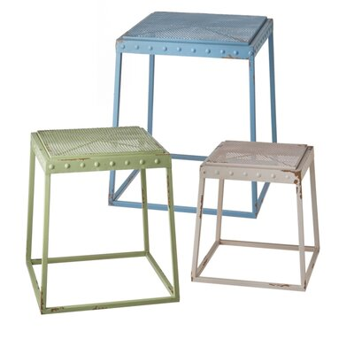 Laurel Foundry Modern Farmhouse Oconee 3 Piece Nesting Tables
