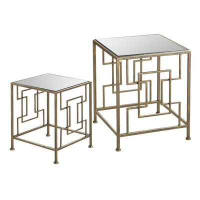 House of Hampton Ettinger 2 Piece Nest..