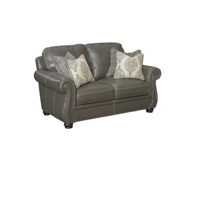 Simon Li Charleston Leather Loveseat