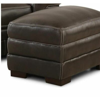 Simon Li Macco Ghost Leather Ottoman