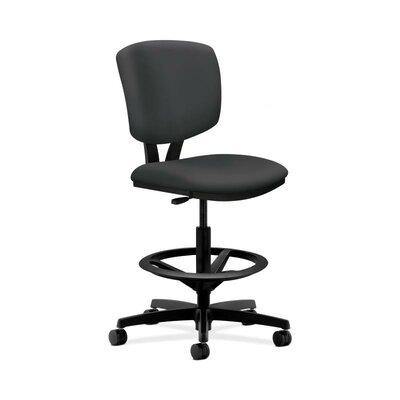 HON Volt Drafting Chair in Grade V Silver..
