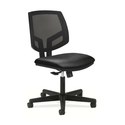 HON Volt Leather Task Chair with Center T..