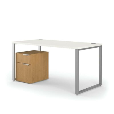 HON Voi L-Shaped Desk with Mobile Pedestal Image