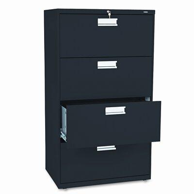 HON 600 Series 4-Drawer File