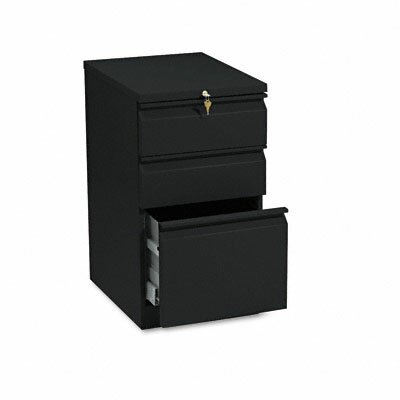 HON Brigade Mobile 3-Drawer Efficiencies Pedestal File