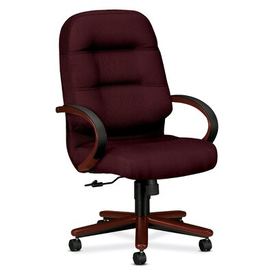 HON Pillow-Soft Wood Series Executive High-Back Chair