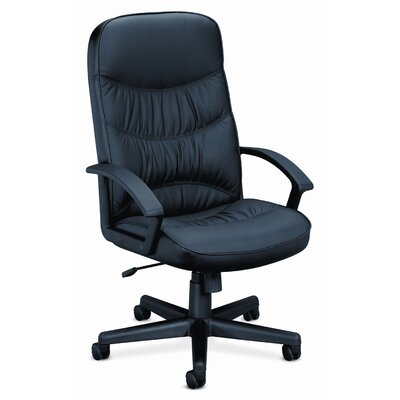 HON Basyx Leather High-Back Swivel / Tilt Chair