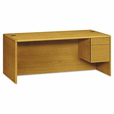HON Right Sigle Pedestal Desk