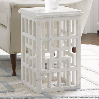 Global Views Gridblock End Table