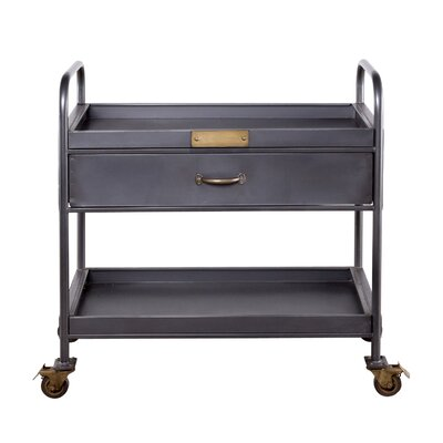Wildon Home Hobart Bar Serving Cart