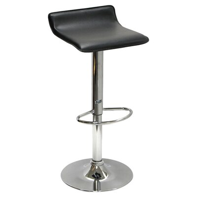Latitude Run Caddens Adjustable Height Swivel Bar Stool (Set of 2)