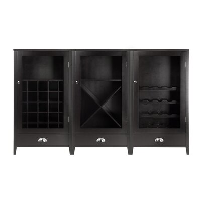 Winsome 70 Bottle Floor Wine Cabinet