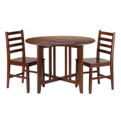 Winsome Alamo 3 Piece Dining Set
