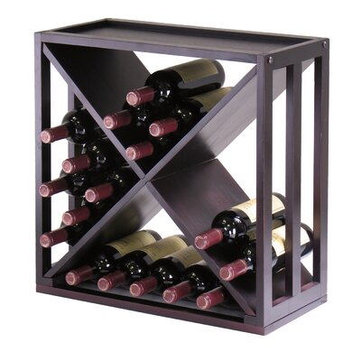 Winsome Kingston 24 Bottle Tabletop Wine Rack